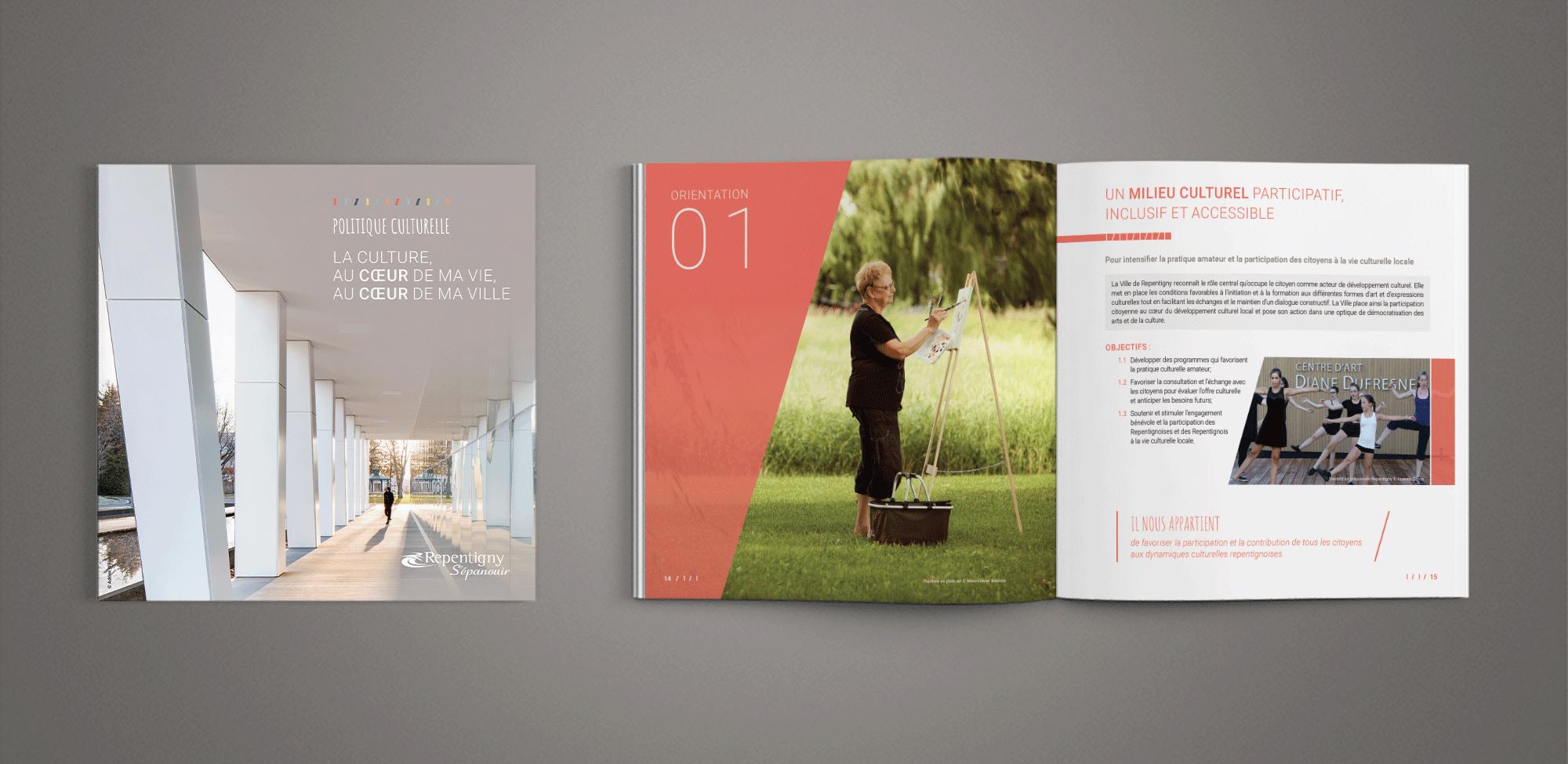 Repentigny - Brochure Politique culturelle